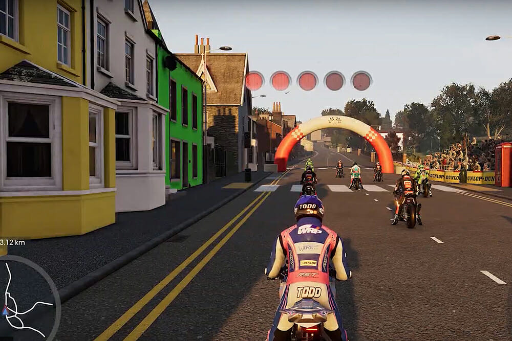 TT Isle of Man – Ride on the Edge 2 video game screenshot
