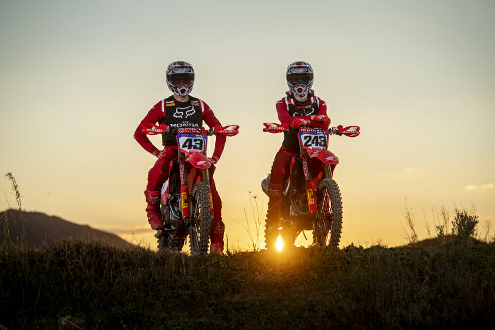 Team HRC Tim Gajser and Mitch Evans Ready for 2020 MXGP with new Honda CRF450RW