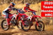 2020 Team Honda HRC video with Ken Roczen and Justin Brayton
