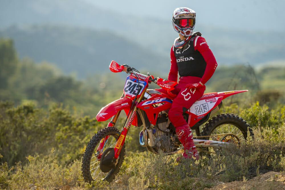 Tim Gajser ready for 2020 MXGP with new Honda CRF450RW
