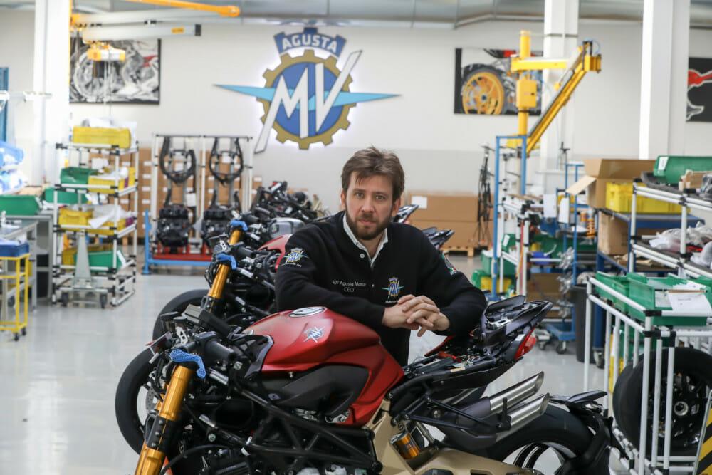 Timur Sardarov, CEO of MV Agusta Motor