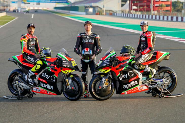 Aprilia Racing Team Gresini's 2020 MotoGP Team