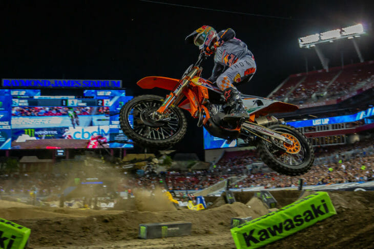 2020 Tampa Supercross Results