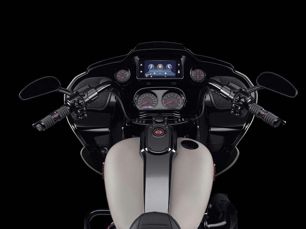 New 2020 Harley-Davidson CVO Road Glide features H-D Connect and RDRS.