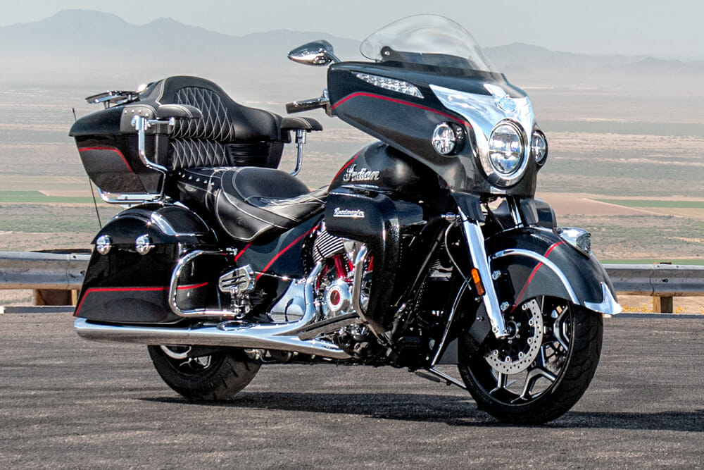 Indian Motorcycle has released a 2020 Roadmaster Elite in a limited production of 225 motorcycles.