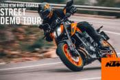 KTM Announces Nationwide 2020 Ride Orange Street Demo Tour