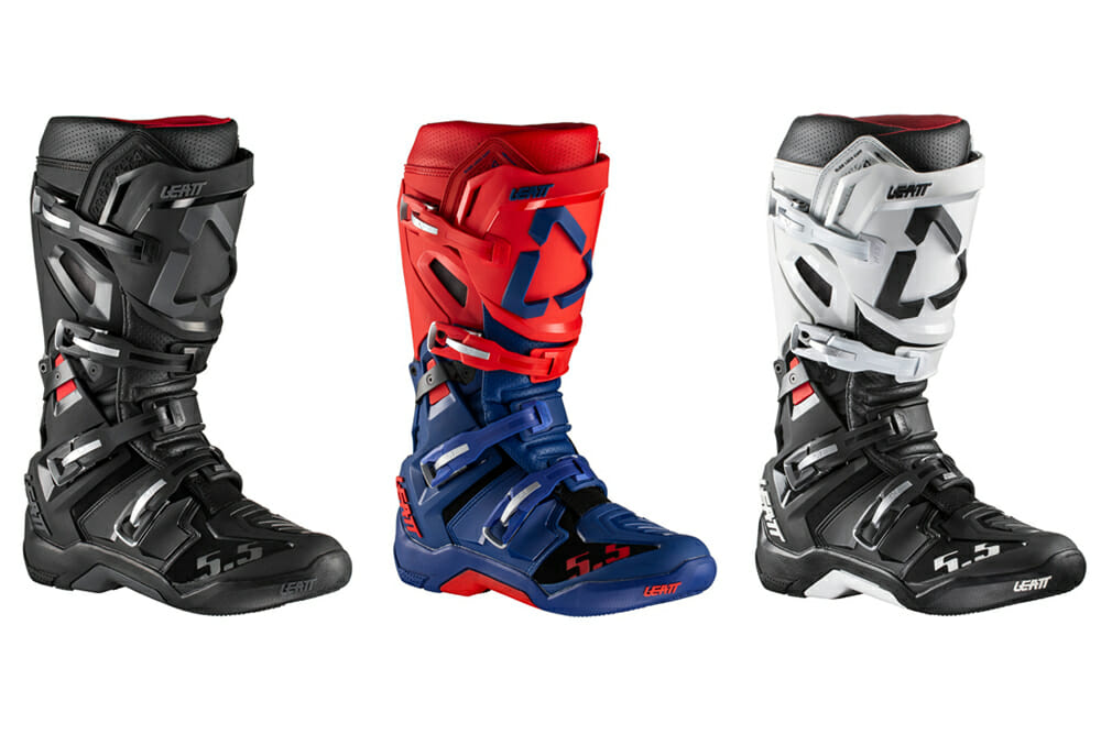Leatt 5.5 FlexLock Boots | After three years of development with pro riders, Leatt has released its new 5.5 FlexLock boots.