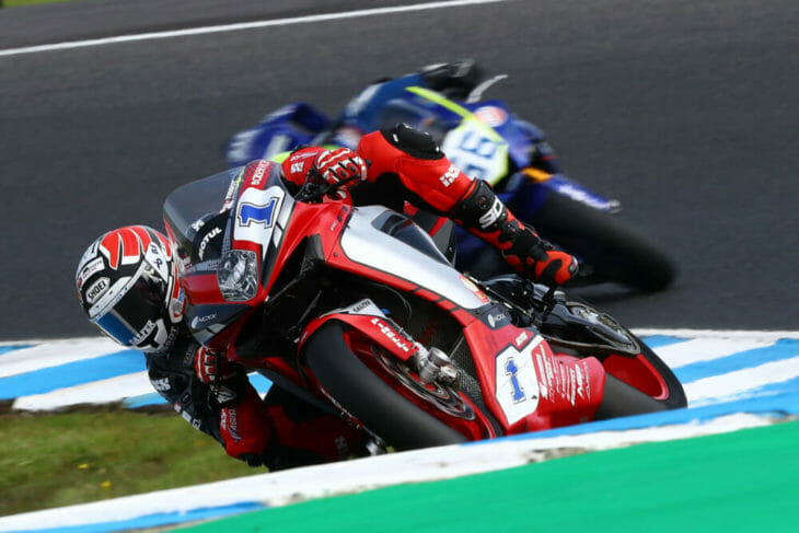 2020 Australia WorldSBK Results Friday Krummenacher