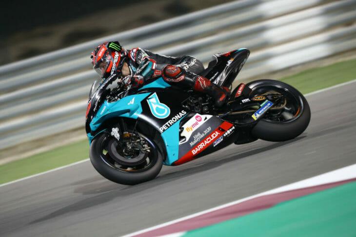 2020 Qatar MotoGP Test Results Quartararo