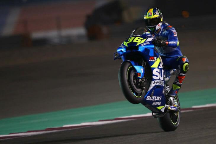 2020 Qatar MotoGP Test Results Mir