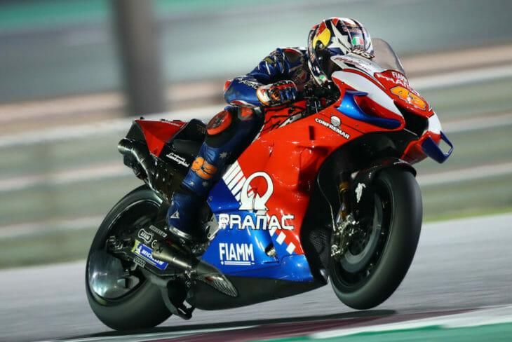 2020 Qatar MotoGP Test Results Miller