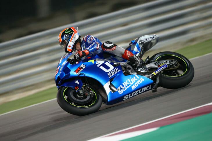 2020 Qatar MotoGP Test Results Rins