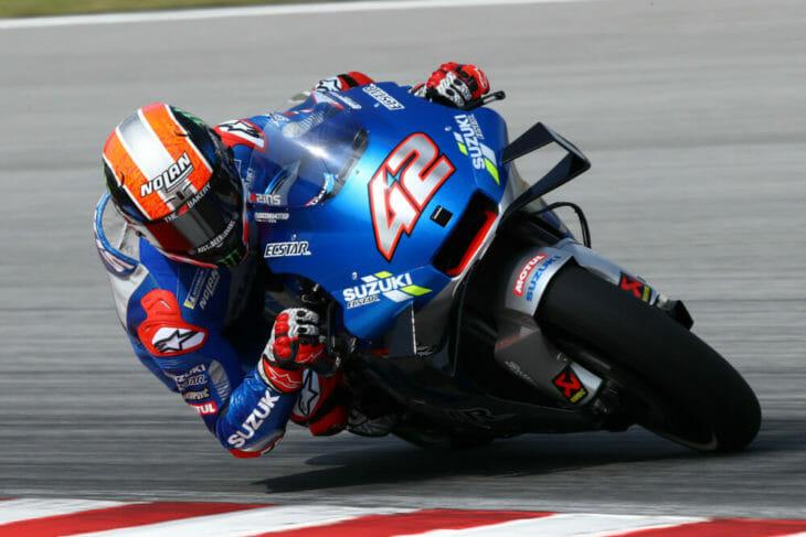 2020 Sepang MotoGP Preseason Test Results Rins