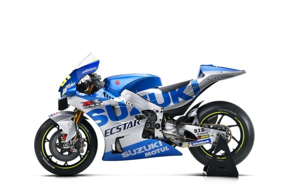 2020 Team Suzuki Ecstar Presentation Cycle News