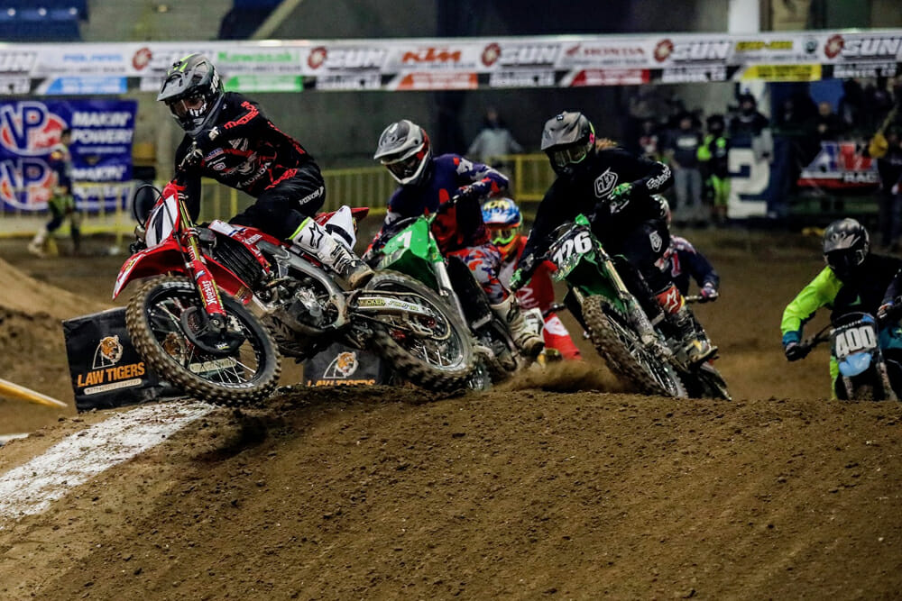 AMA Kicker Arenacross Results, Round Six and Seven Recap from Denver, Colorado