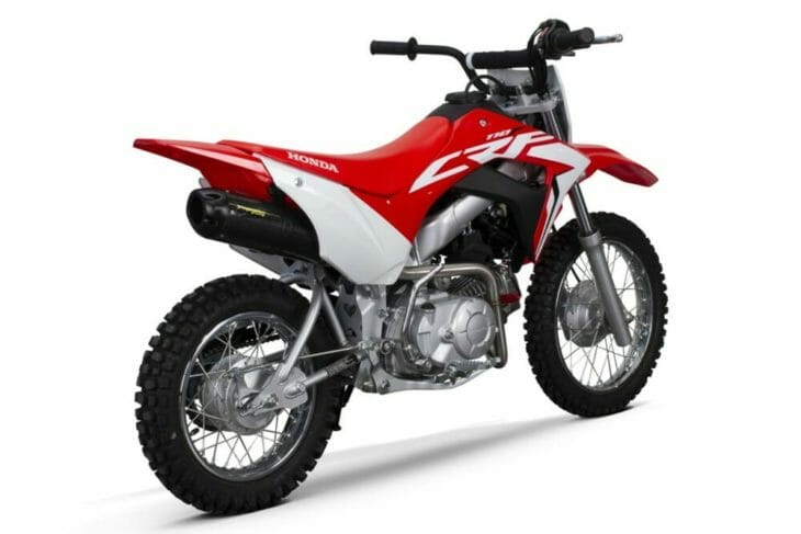 Two Brothers CRF110F Racing Exhausts