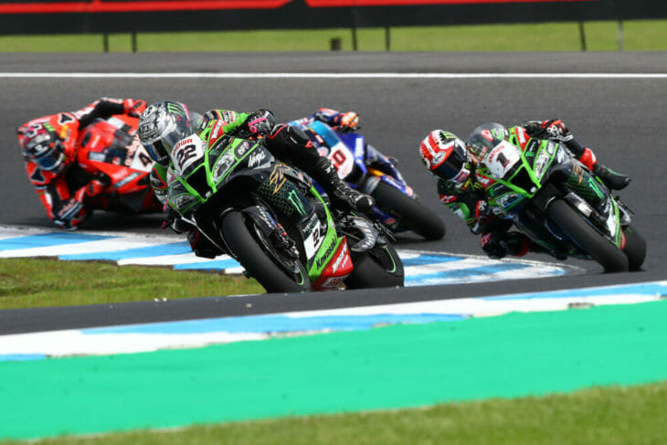 2020 Australia WorldSBK Superpole Results Race Two