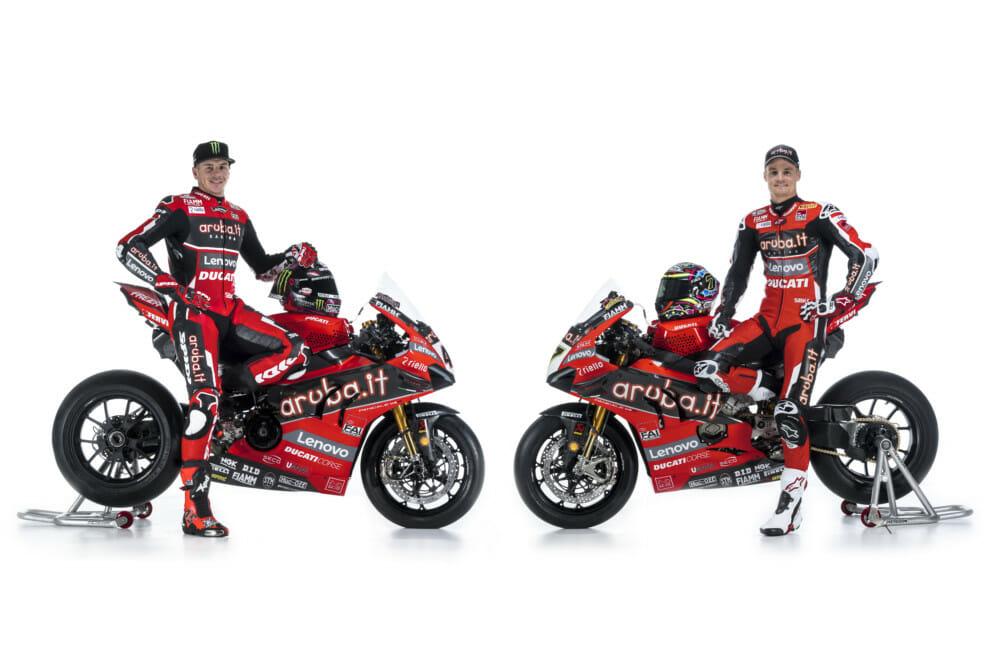 Aruba.it Racing Ducati WorldSBK Team Presented