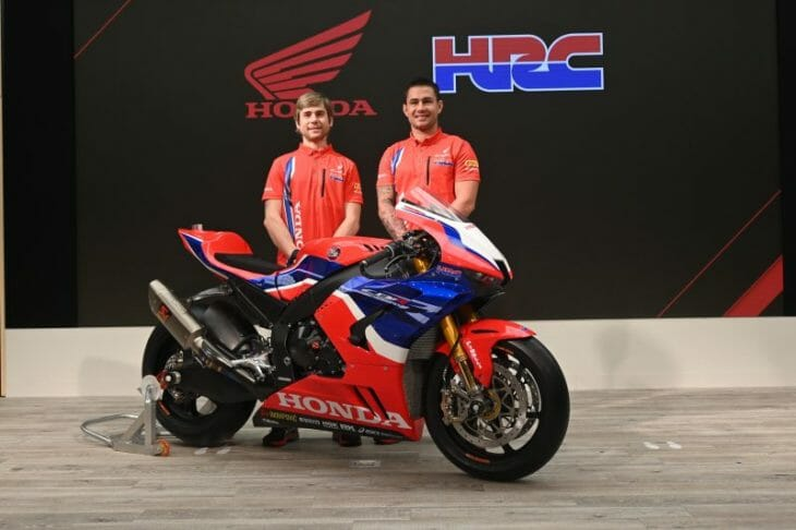 Team HRC Reveal 2020 World Superbike livery