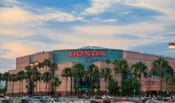 Honda Center in Anaheim, CA