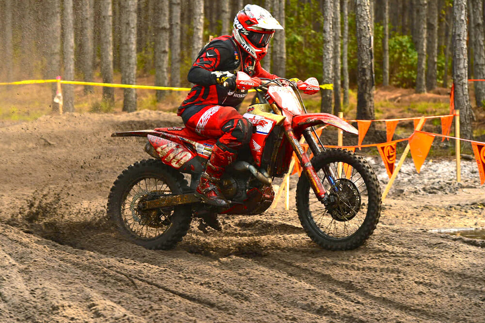Andrew Delong will lead the Phoenix Honda Racing Team's effort in GNCC this year.