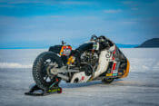 Indian Motorcycle and Workhorse Speed Shop Revealed Appaloosa v2.0 at Lake Baikal