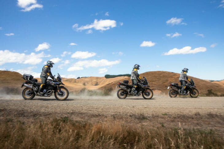 Since its debut in 2008, BMW Motorrad has relied exclusively on Metzeler to equip the GS Trophy bikes.