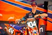 Troy Lee Designs/Red Bull KTM Factory Racing's Brian Moreau Injured at Tampa SX