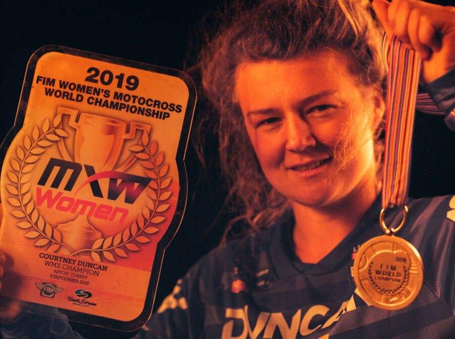 WMX Champion Courtney Duncan