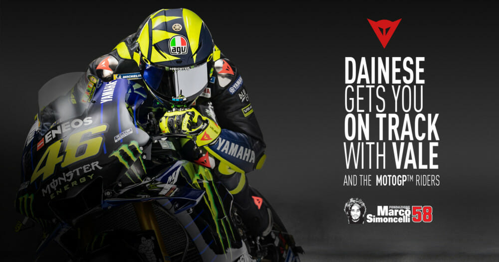Dainese Riding Master in Misano With Valentino Rossi