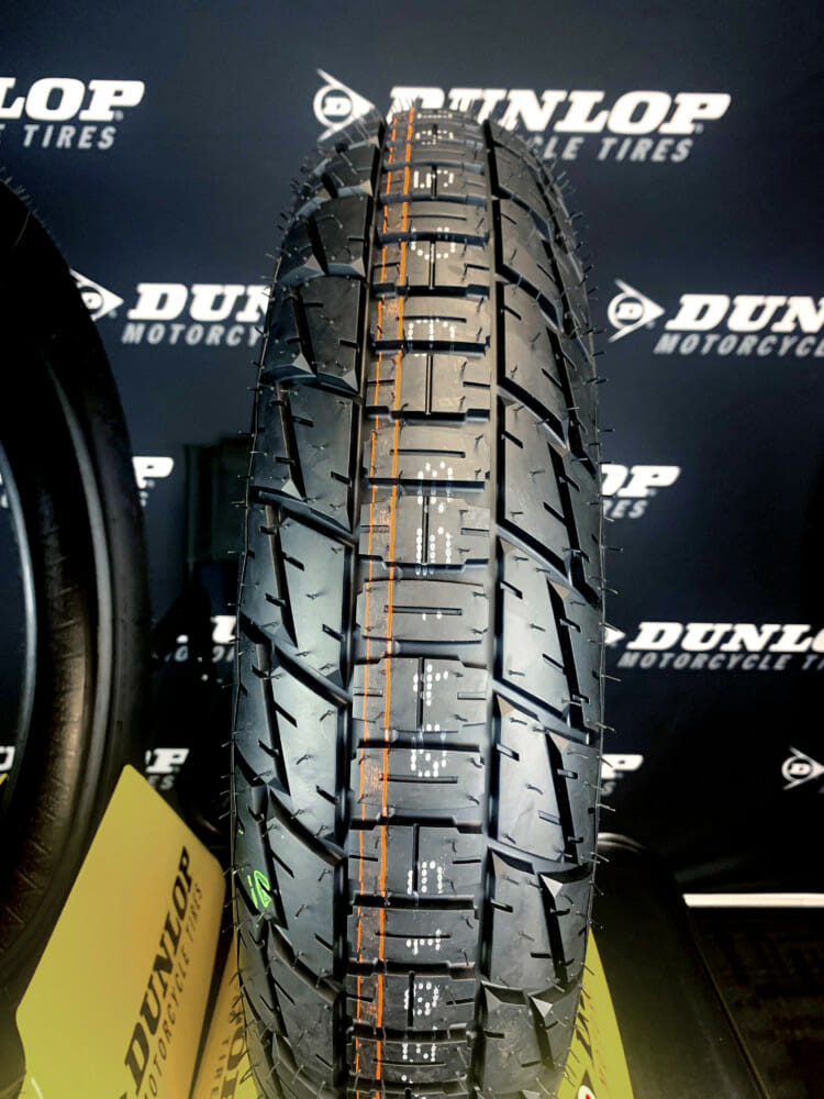 The DT4 features a new rubber compound from the DT3 but the carcass is carried over.