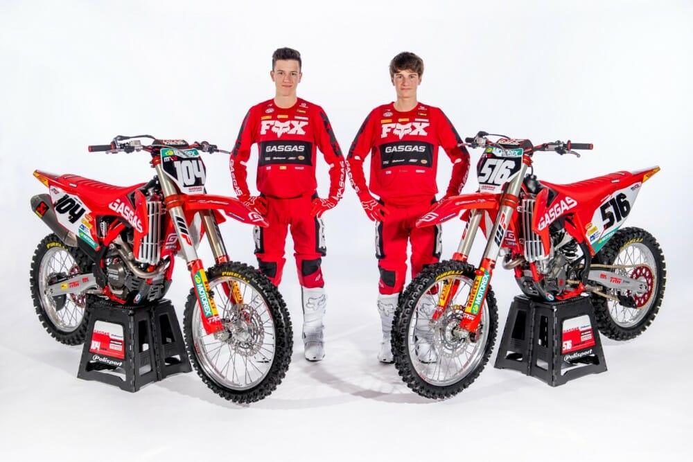 GasGas Factory Racing - 2020 MX2 Team