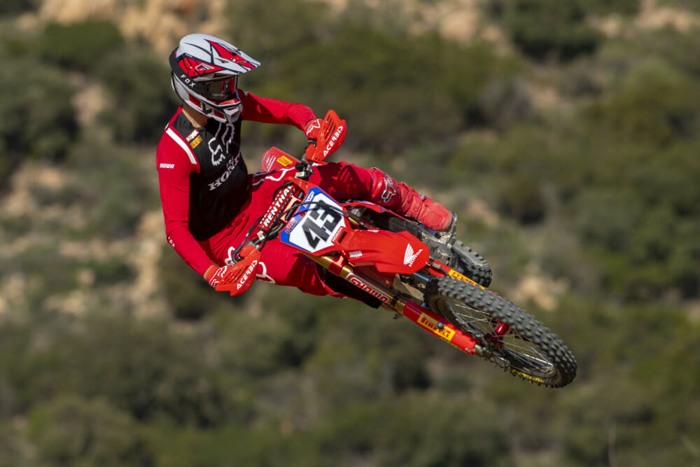 Riding brand new Honda CRF450RWs, defending MXGP world champion Tim Gajser and new team-mate Mitch Evans are ready for the start of the 2020 FIM world motocross championship.