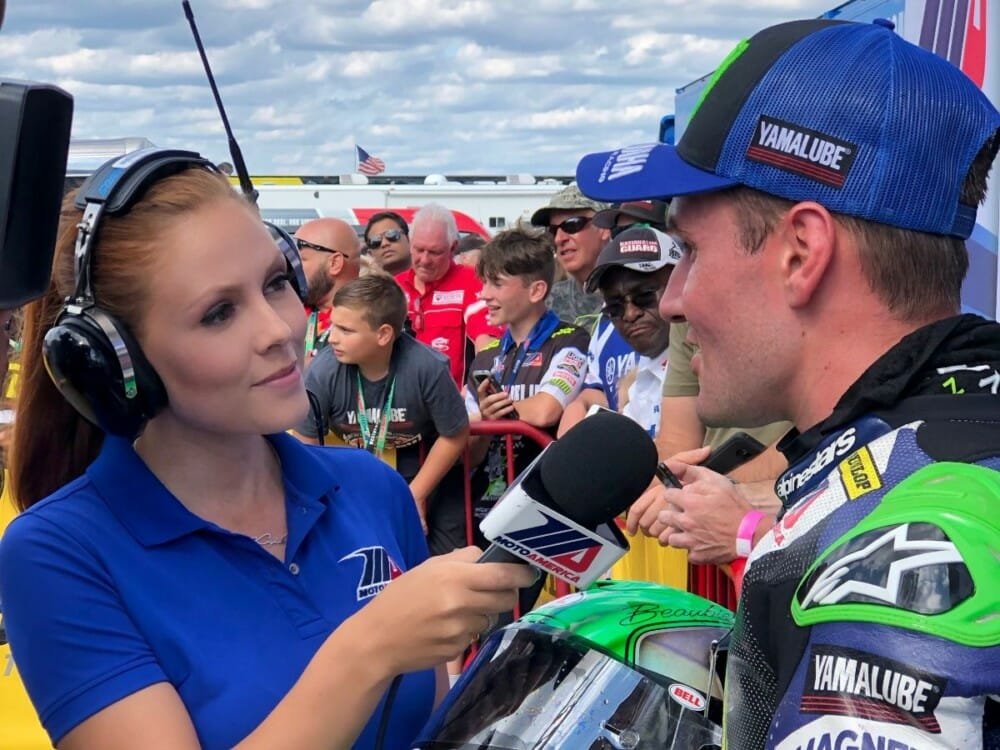 MotoAmerica Announces TV Talent For 2020. Greg White, Jason Pridmore and Hannah Lopa To Lead The Crew Again