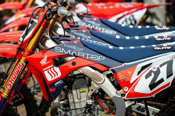 Expanded Lineup of Honda Support Teams in AMA Supercross