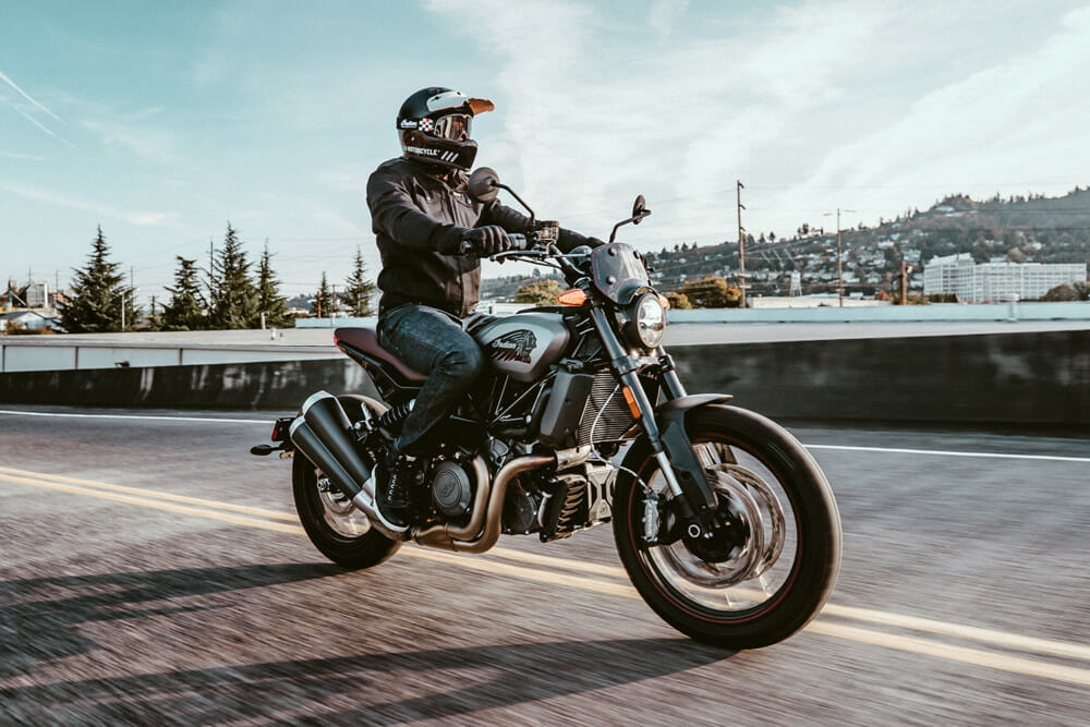 Indian Motorcycle 2020 FTR Rally - Indian Motorcycle's 2020 FTR Rally combines scrambler styling with modern performance.