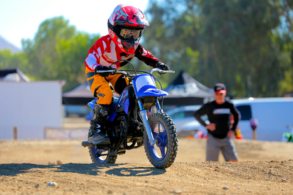 Malcolm Smith Kids Learn To Ride Day had another big turnout.