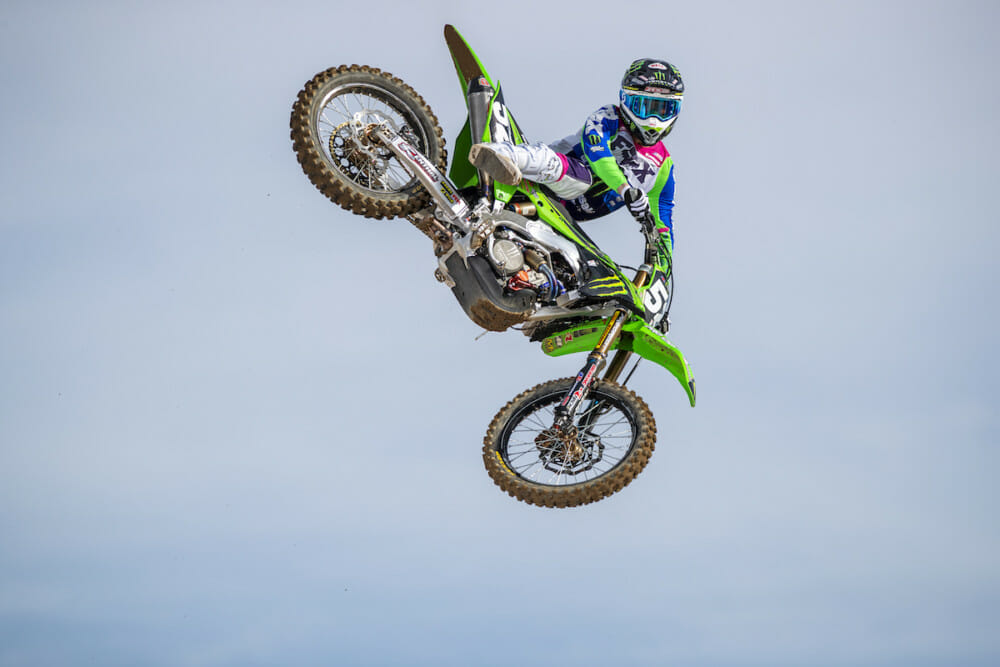 Monster Energy Pro Circuit Kawasaki rider Jordon Smith