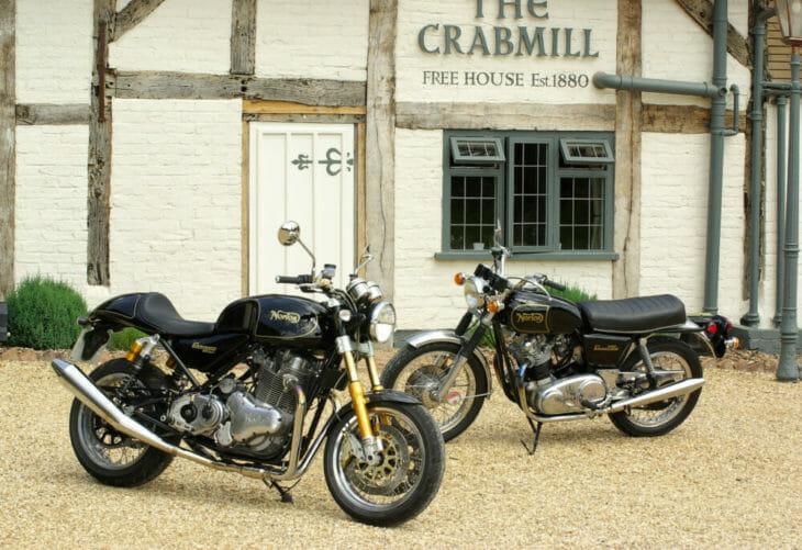 Norton Motorcycles 1973 Commando 850 2011 Commando 961
