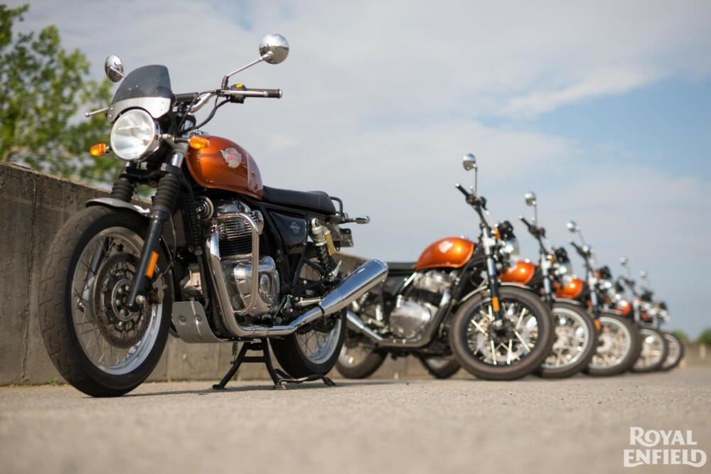 Royal Enfield and American Flat Track Forge Official Partnership