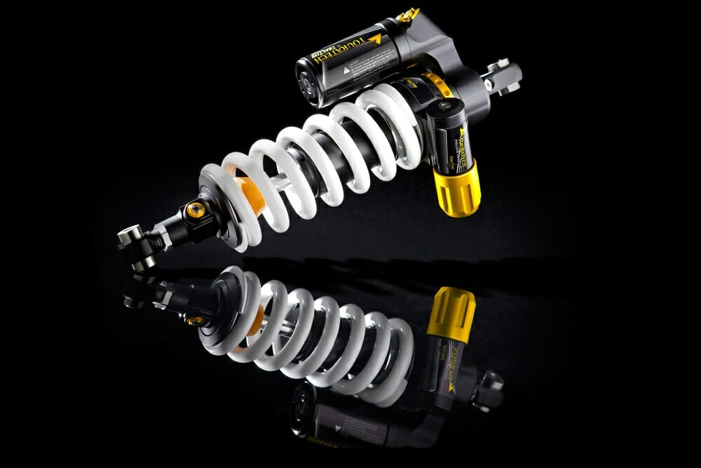 TouraTech's Extreme rear shock is designed specifically for ADV motorcycles and ADV riding.