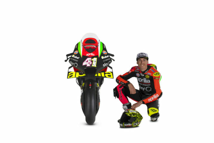 Aleix Espargaro and the RS-GP