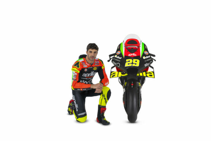 Andrea Iannone and the RS-GP