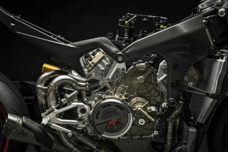 Ducati Superleggera V4 frame motor