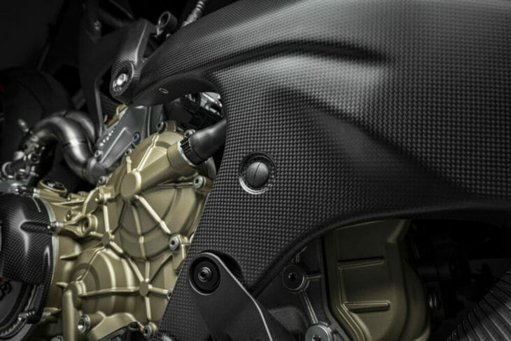 Ducati Superleggera V4 frame
