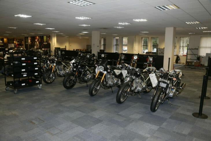 Norton Motorcycle factory bikes
