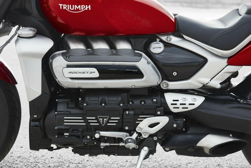 2019 Triumph Rocket 3 R left side