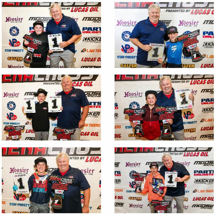 AMA National Arenacross Amateurs Championship Winners