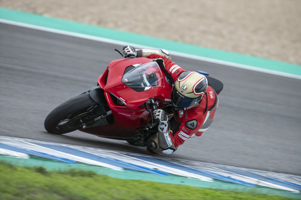 2020 Ducati Panigale V2 Michael Mann Track Test