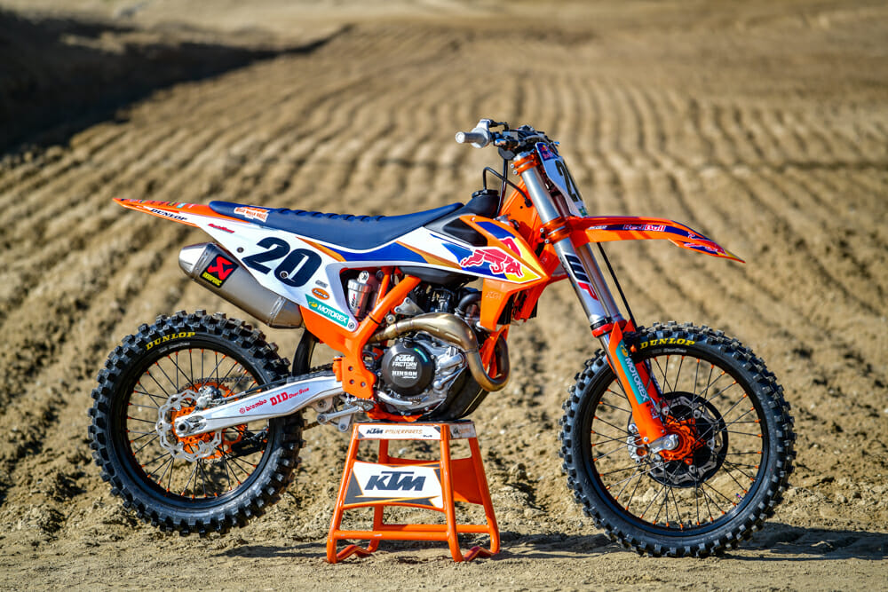 2020 KTM 450 SX-F Factory Edition Specifications
